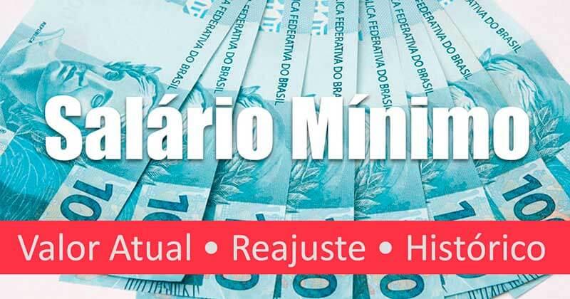 Salário Mínimo 2018: Valor e Tabela Atualizada
