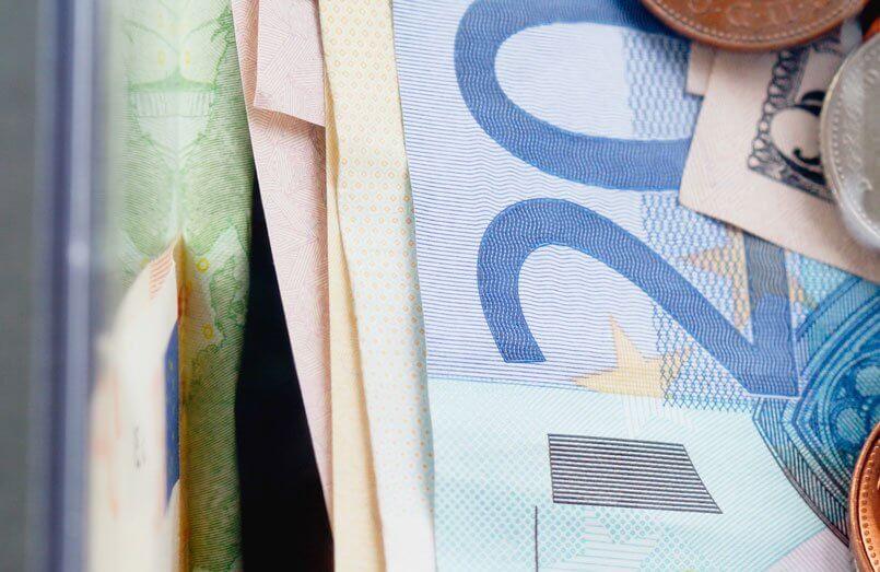 Euro de perto